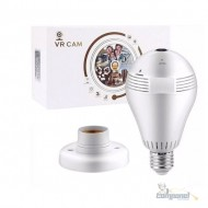 Lâmpada de Led 05W com Câmera de Segurança HD - V380 Pro - vr Cam
